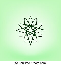 Abstract logo vector icon