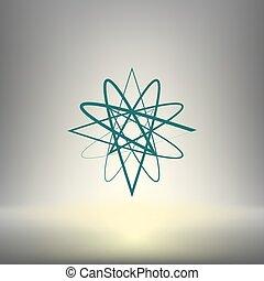 Abstract logo vector icon