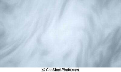 Abstract Loop background luxury cloth or liquid wave. Milk wave Clean white Animation