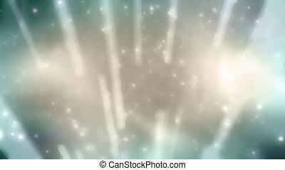 Abstract Loop Beams and Particles