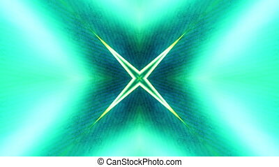 Abstract Loop VJ Motion Green