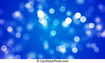Abstract Loopable Background with nice blue bokeh