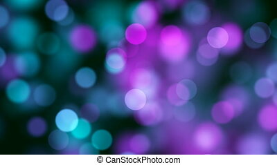 Abstract Loopable Background with nice multicolor bokeh