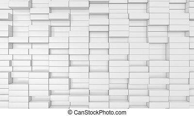Abstract loopable video background with bricks