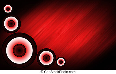 Abstract Loudspeaker background