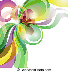 Abstract love theme colourful festive background - Abstract...