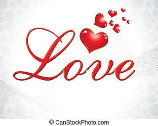 abstract love wallpaper