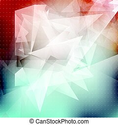 abstract low poly background 0712