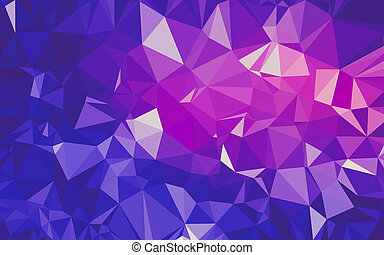 Abstract low poly background, geometry triangle, mosaic ...