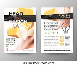 Abstract low polygon background for Poster Brochure Flyer design Layout vector template