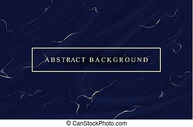 Abstract luxury background with dark blue marble texture