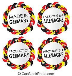Made In Germany Badges