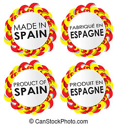 Made In Spain Badges