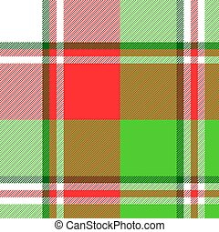 Abstract madras seamless pattern fabric texture. Vector ...