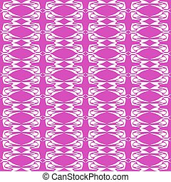 abstract magenta seamless floral