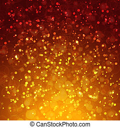 Abstract magic bokeh background