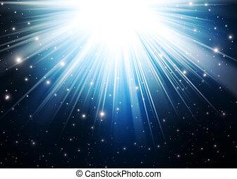 Abstract magic light