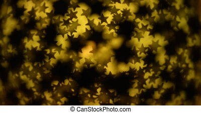 Abstract magnifying stars moving background.