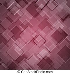 Abstract maroon background with rhombus