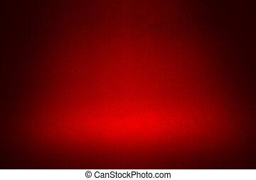 abstract, materiaal, donkere achtergrond, schijnwerper, rood