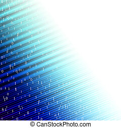 Abstract matrix background matrix.