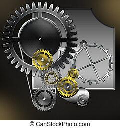mechanism - abstract mechanism