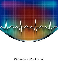Abstract  medical background .
