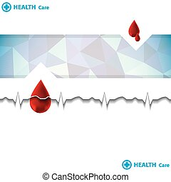 Abstract  medical background (Vector).
