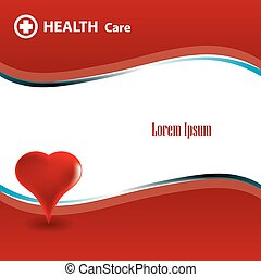 Abstract medical background with medical symbol.