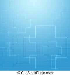 Abstract medical concept background