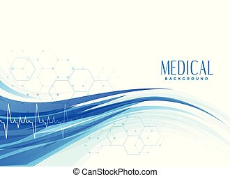 abstract medical healthcare background design