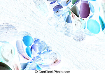 Abstract medication background