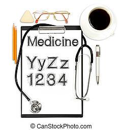 abstract, medisch, achtergrond