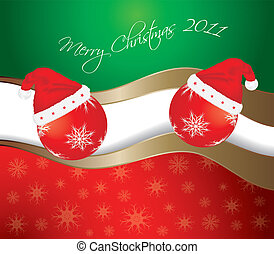 Abstract Merry Christmas background. Vector eps10 illustration