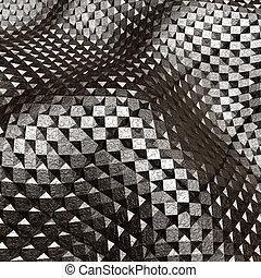 Abstract metal art