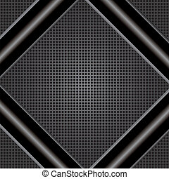 Abstract metal background . - Abstract metal background on...
