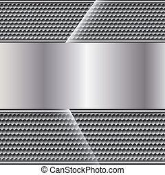 Abstract metal background on texture