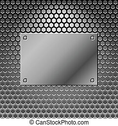 Abstract metal background. Steel