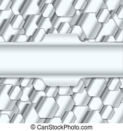 Abstract Metal Background. Vector Illustration