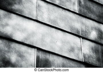 Abstract metal construction as a background texture