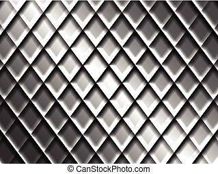 Abstract Metal Mesh Surface