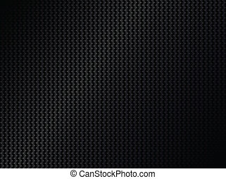 Abstract metallic black background, vector illustration