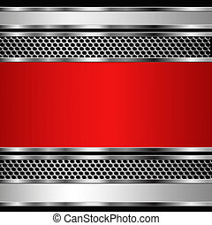 Abstract metallic business background. Vector eps10 ...