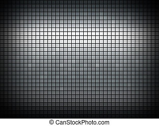 Abstract metallic colored mosaic vector background.