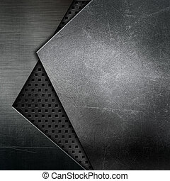 Abstract metallic texture - Abstract texture background with...