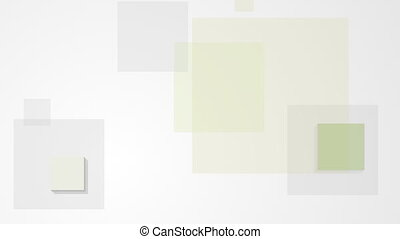Abstract minimal geometric squares video animation -...