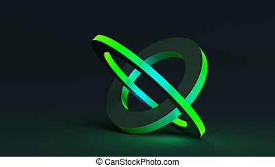 Abstract Minimalistic 3D Background - Abstract 3d rendering ...