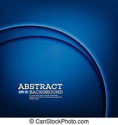 Abstract modern background with blue waves