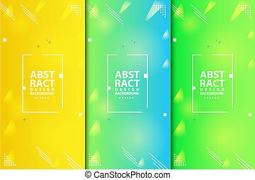 Abstract modern banner background collection vector eps 10