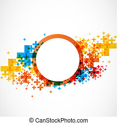 abstract modern color background